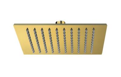 VALVEX CARRE GOLD deszczownica ZŁOTA 250 X 250 mm