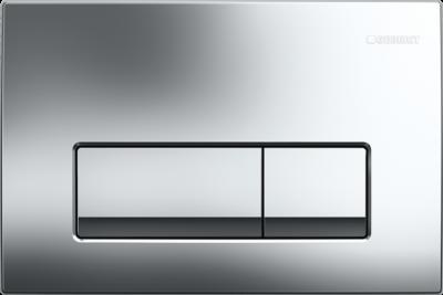 GEBERIT przycisk uruchamiający Delta51, przedni,  chrom błyszczący do stelaży Basic DELTA UP100