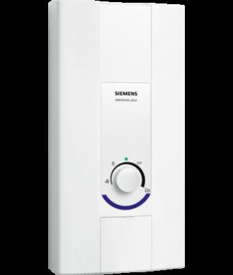 SIEMENS Electronic plus Przepływowy ogrzewacz wody 21/24 kW  DE2124407