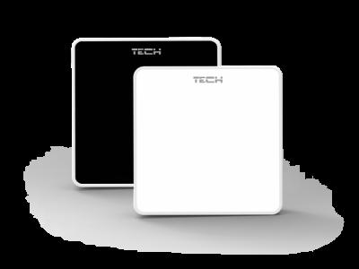 TECH C-6 r  Bezprzewodowy czujnik pokojowy do listwy L-6