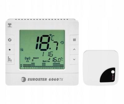 EUROSTER 6060 TXRX Regulator temp. BEZPRZEWODOWY