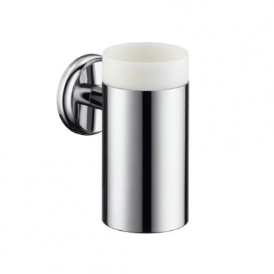 HANSGROHE Logis Classic Uchwyt ze szklanką do mycia zębów CHROM