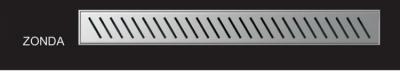 WIPER PREMIUM ZONDA 600 mm odwodnienie liniowe prysznicowe