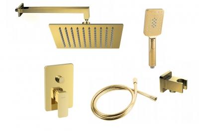 VALVEX LOFT GOLD zestaw podtynkowy prysznicowy ZŁOTY