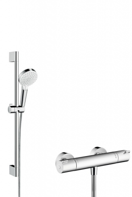 HANSGROHE Zestaw prysznicowy Crometta Vario Combi 1001 CL 0,65 m