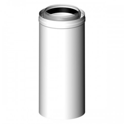 ALMEVA-LIK rura spalinowa koncentr. 80/125 L-500