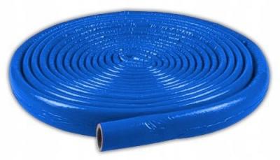 Otulina izolacja w kręgu 10 m- 18/6 mm niebieski