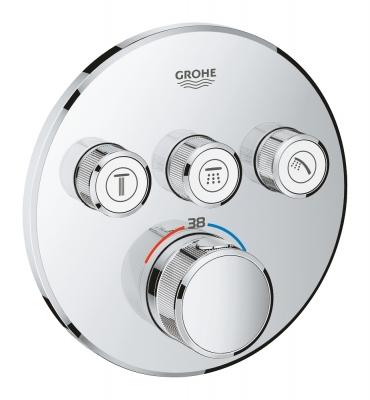 GROHE Grohtherm SmartControl Bateria termostatyczna do obsługi trzech wyjść wody