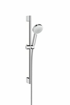 HANSGROHE Zestaw prysznicowy Crometta 100 Vario 0.65m biały/chrom