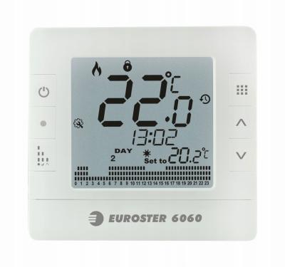 EUROSTER E6060 Przewodowy regulator temperatury