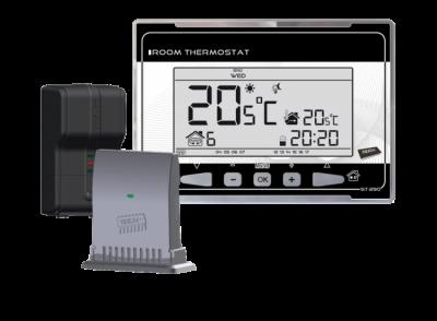TECH ST-290 v2 Regulator pokojowy dwustanowy * komunikacja bezprzewodowa, chwilowe podświetlenie