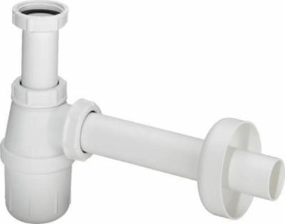 VIEGA półsyfon umywalkowy butelkowy biały
