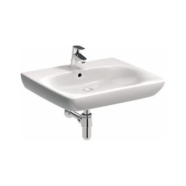 KOŁO Umywalka NOVA PRO BEZ BARIER 65 cm dla osób niepełnosprawnych, z otworem, bez przelewu