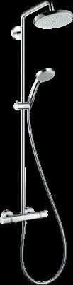 HANSGROHE Croma Komplet prysznicowy 220 1jet z termostatem