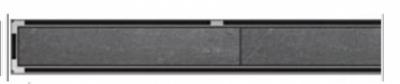 ACO odwodnienie prysznicowe h-65mm TILE L-985