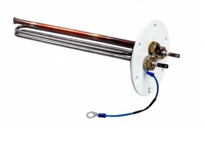 GALMET Grzałka 2kW 230V na flanszy 125mm/6 śrub