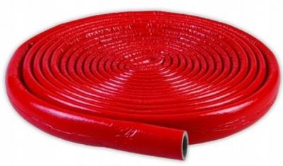 Otulina izolacja w kręgu 10 m- 15/6 mm czerwona