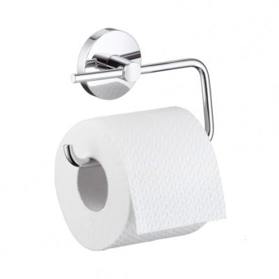 HANSGROHE Logis Uchwyt na papier toaletowy CHROM bez osłony