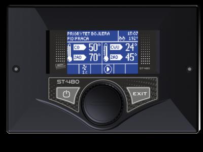 TECH ST-480 n Sterownik do kotła z podajnikiem