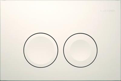GEBERIT przycisk uruchamiający Delta21, przedni, biały-alpin do stelaży Basic DELTA UP100