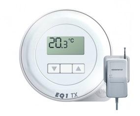 EUROSTER Q1TXRX Bezprzewodowy regulator temperatury do wszelkich urządzeń grzewczych DOBOWY
