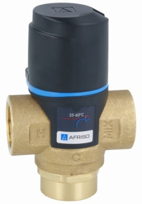 AFRISO ATM 333 termostatyczny zawór mieszający 3/4 zakres temperatury 35-60st.C, Kvs 1,6
