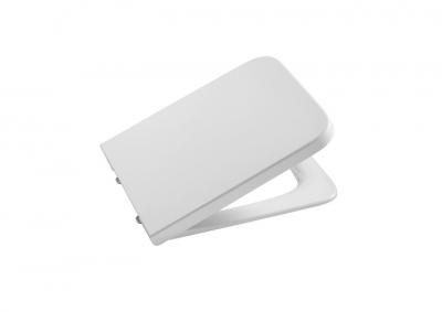ROCA Inspira Deska WC wolnoopadająca Square SUPRALIT®