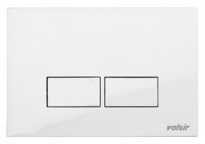 VALSIR WINNER-S przycisk do stelaża kolor biały model P3